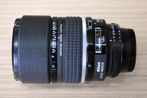 Nikkor 105mm f/2 DC