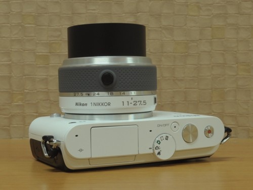 Nikon J3 top view